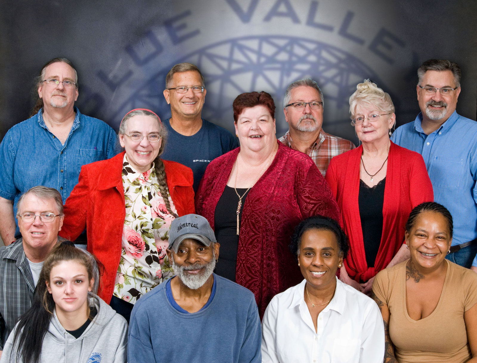 The team members and employees at Blue Valley Industries.